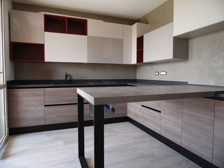 Modern Kitchen by Arredamenti Grossi Modern