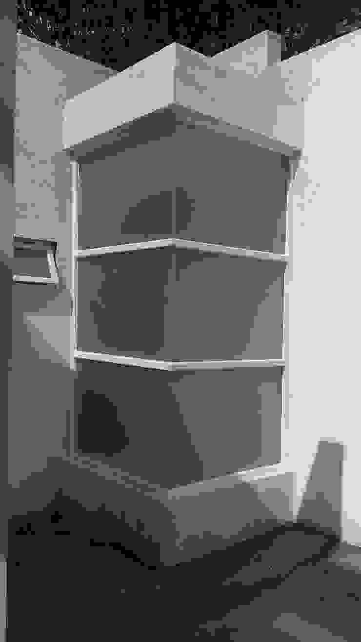 REGADERA Baños modernos de GNG ARQUITECTURA Y DISEÑO Moderno Aluminio/Cinc