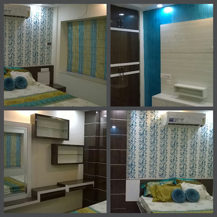 CHILDREN'S BEDROOM with theme NATURE: modern  by Elegant Dwelling,Modern Plywood