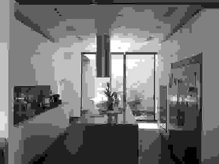 Residencia CB675 Cocinas modernas de Domótica y Automatización Integral Moderno