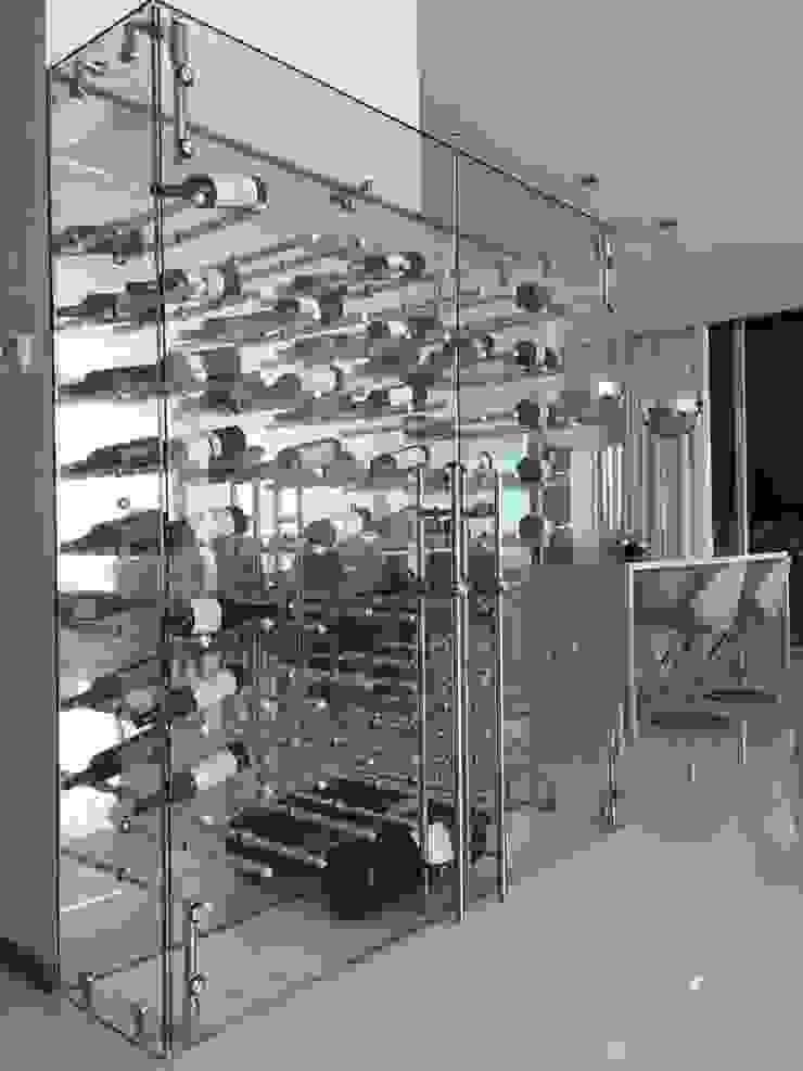 Cava Bodegas modernas de AParquitectos Moderno Vidrio