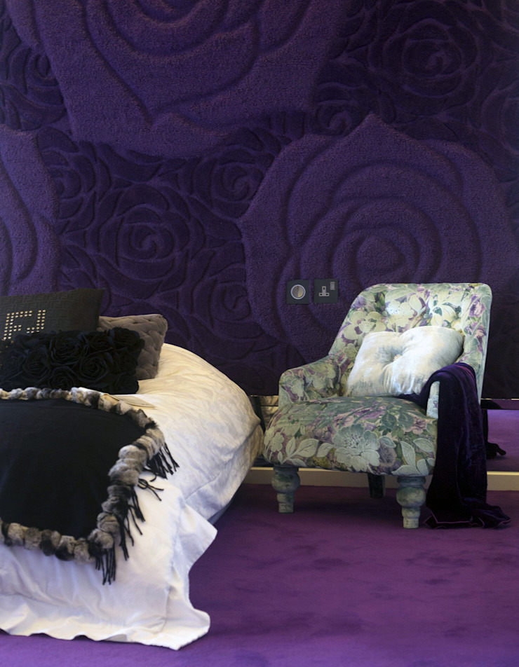 Tycoon Place Another Design International Modern style bedroom Purple/Violet