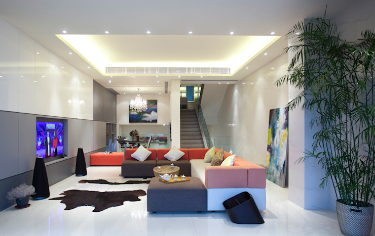 Tycoon Place Moderne Wohnzimmer von Another Design International Modern