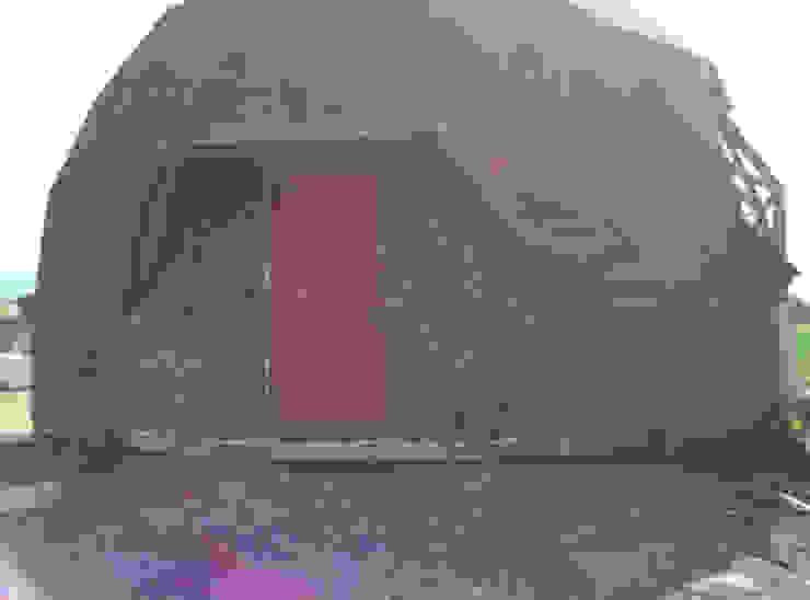 Дома в стиле модерн от Angélica Guzmán Модерн Дерево Эффект древесины
