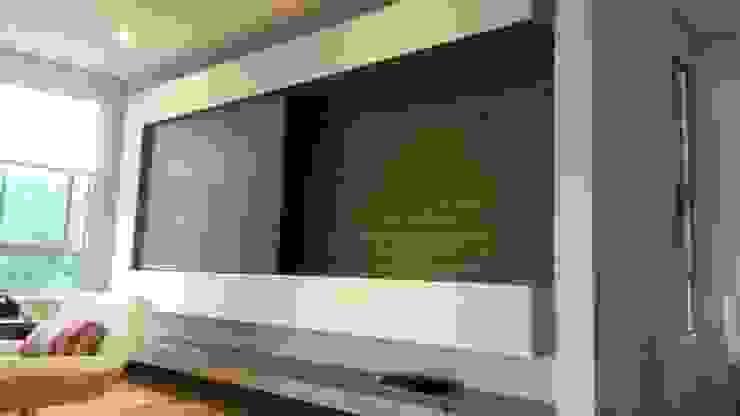 Mueble de tv de ME Estudio S.A.S Minimalista Aglomerado