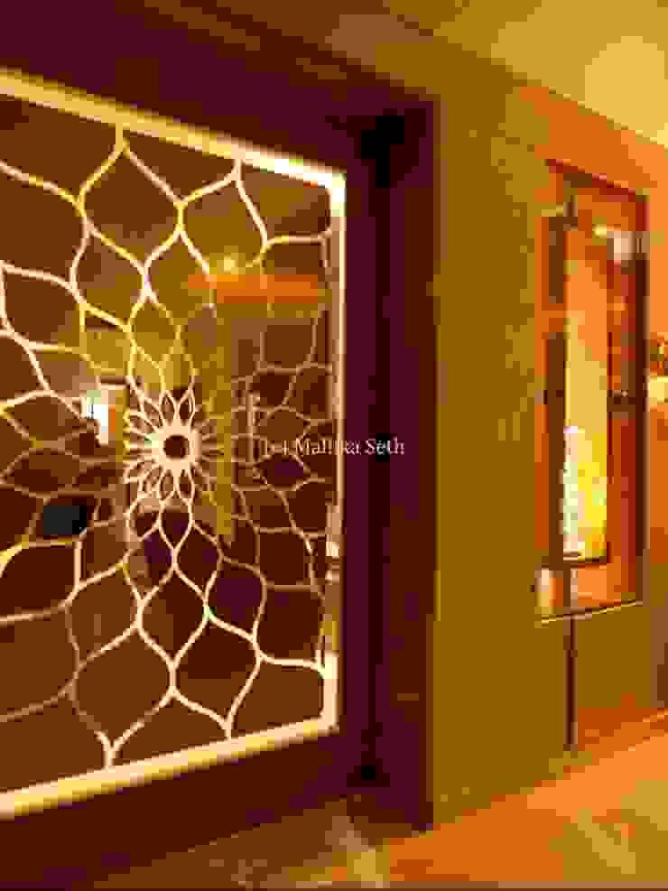 Interiors for a Villa at Ferns Paradise, Bangalore by Mallika Seth Industrial