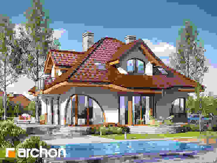 Projekt: Dom w zefirantach 2 (G2) od ARCHON+ PROJEKTY DOMÓW