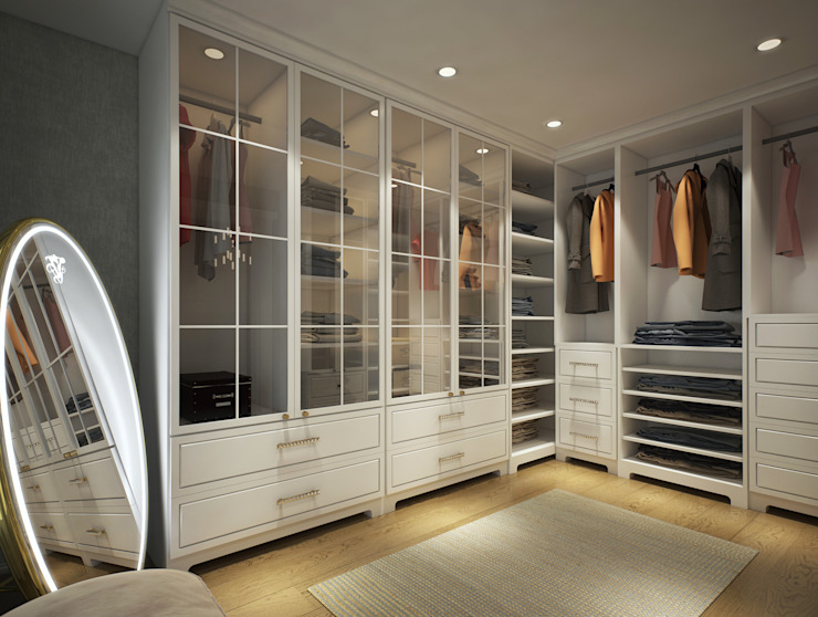 Modern style dressing rooms by yücel partners Modern