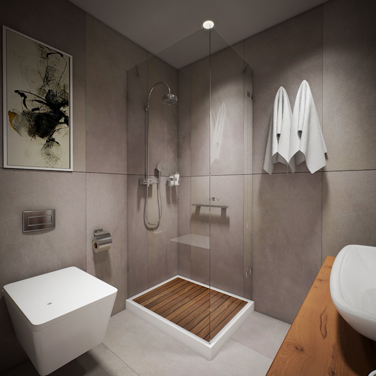 İ&M YILDIZ EVİ yücel partners Modern Banyo