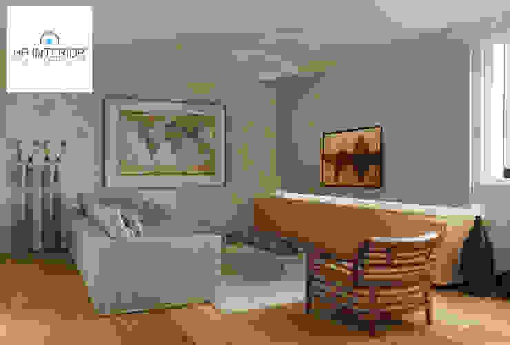 в современный. Автор – HP Interior srl, Модерн Дерево Эффект древесины
