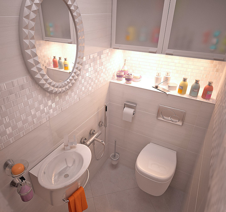 Bathroom by Grafit Architects