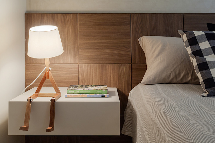 Bedroom by Amis Arquitetura & Design,