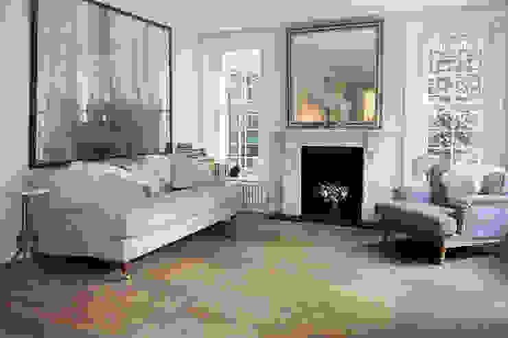 West London Engineered Oak Project Salas de estilo clásico de 3 Oak Wood Flooring Clásico