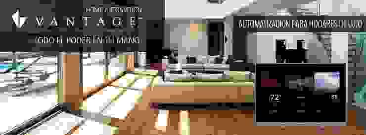 Residencia CB675 Casas modernas de Domótica y Automatización Integral Moderno