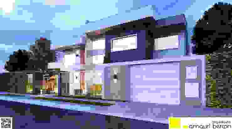 Maisons modernes par Amauri Berton Arquitetura Moderne