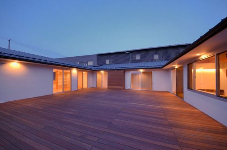 コノジノイエ 岩田建築アトリエ モダンデザインの テラス