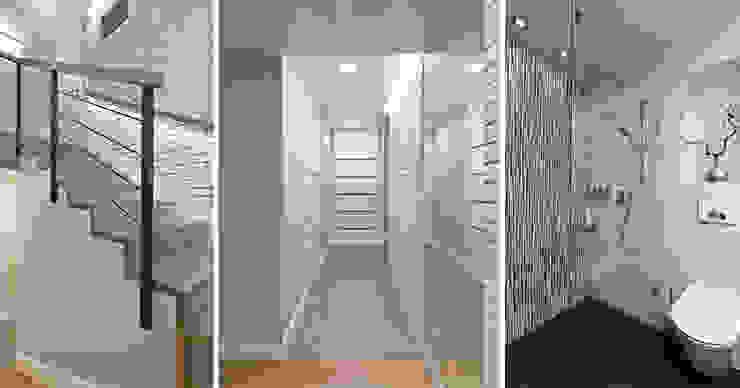 Modern Corridor, Hallway and Staircase by ELM Projekt Studio Modern