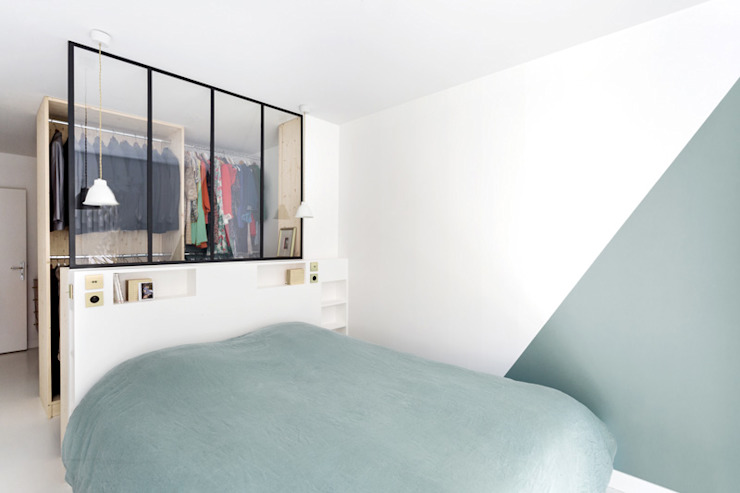 Bedroom by CLAIRE CLERC DECORATION INTERIEURE, Scandinavian