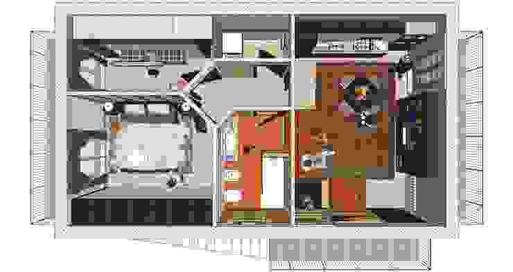 Salas de estar modernas por Planet G Moderno