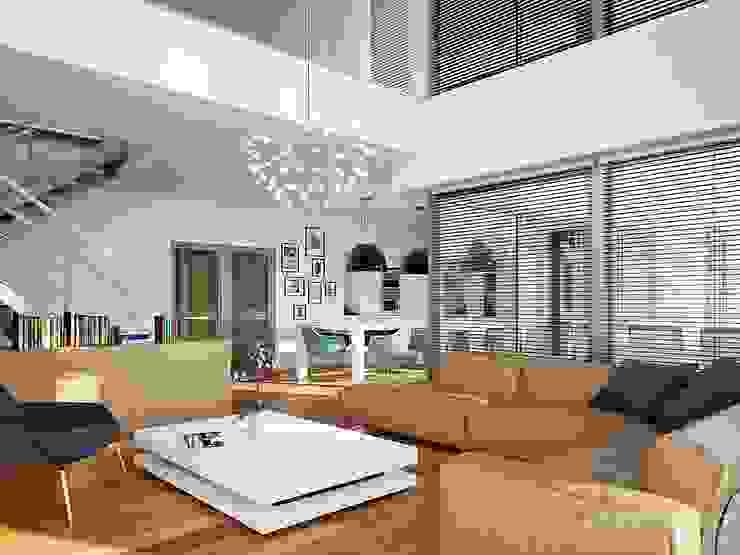 Living room by LK&Projekt GmbH