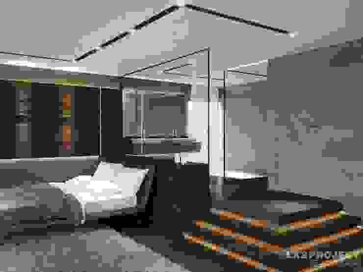 Chambre moderne par LK&Projekt GmbH Moderne