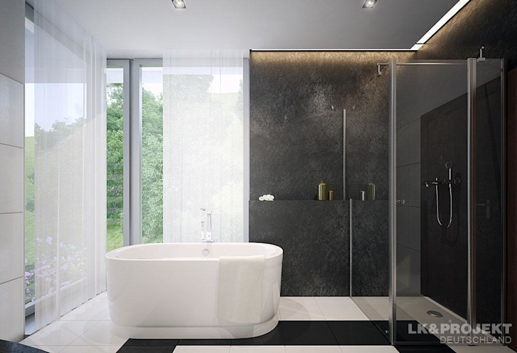 Modern bathroom by LK&Projekt GmbH Modern