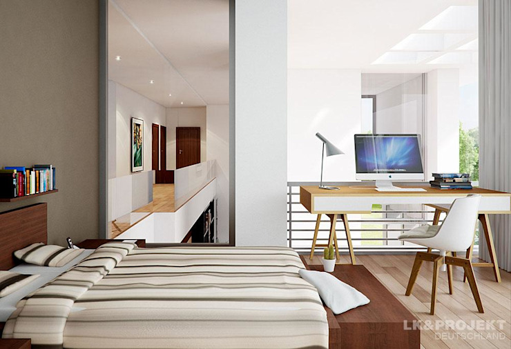 Moderne slaapkamers van LK&Projekt GmbH Modern