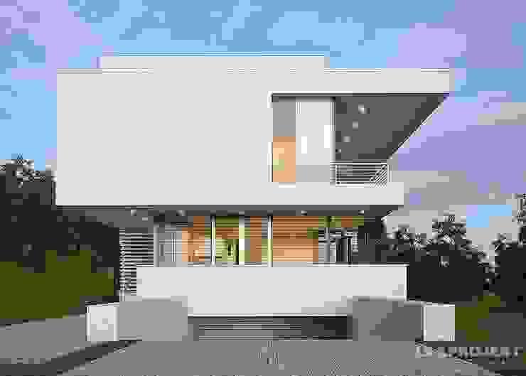Casas modernas de LK&Projekt GmbH Moderno