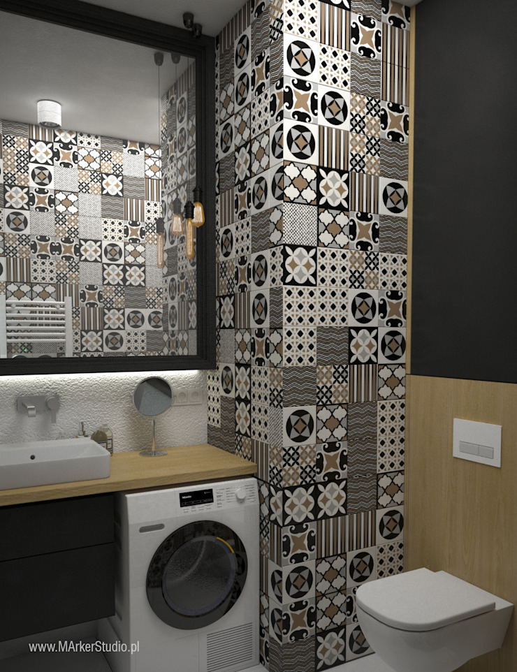 MArker Modern bathroom Ceramic