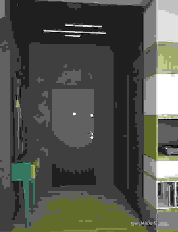 MArker Modern corridor, hallway & stairs