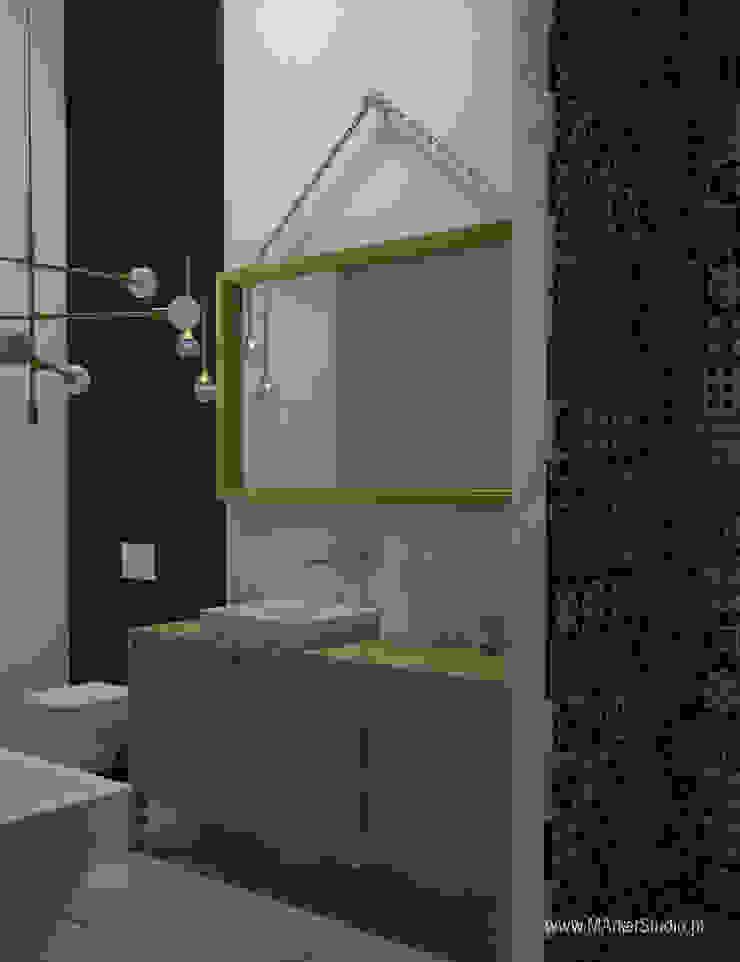 MArker Modern bathroom