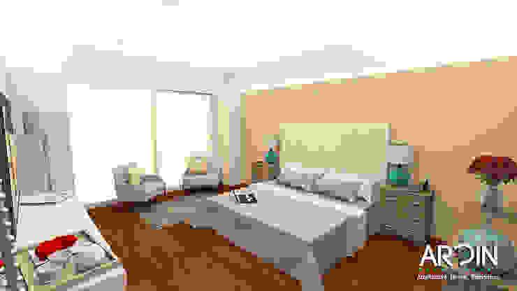 Recmara Principal Dormitorios modernos de ARDIN INTERIORISMO Moderno