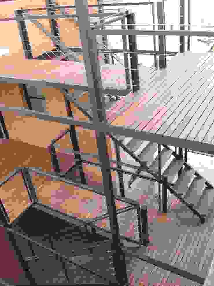 PH MODERNO Pasillos, vestíbulos y escaleras modernos de laura zilinski arquitecta Moderno