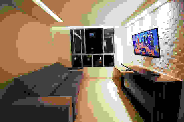Apartamento AD Salas de estar modernas por Tejo Arquitetura & Design Moderno