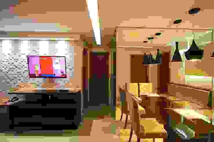 Apartamento AD Salas de jantar modernas por Tejo Arquitetura & Design Moderno