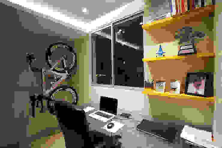 Apartamento AD Escritórios modernos por Tejo Arquitetura & Design Moderno