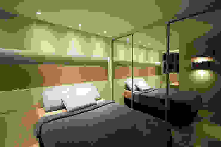 Apartamento AD Quartos modernos por Tejo Arquitetura & Design Moderno