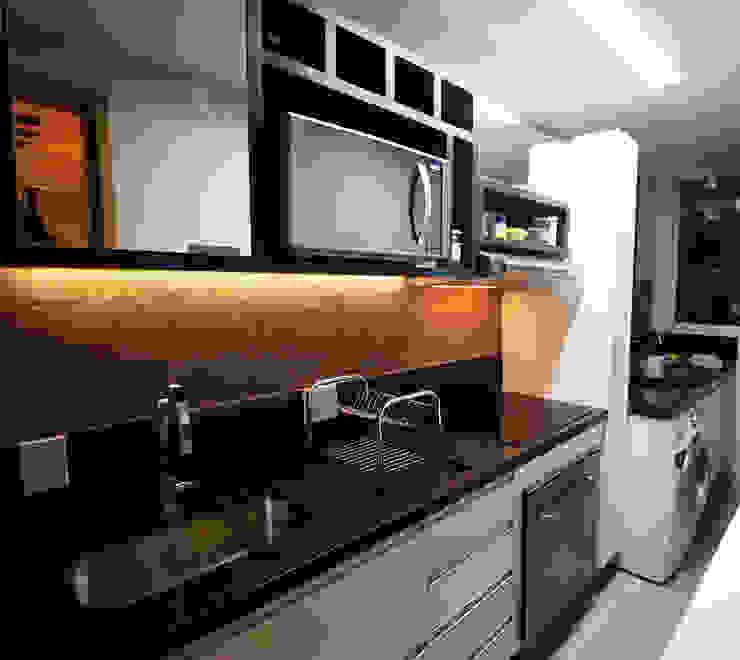 Apartamento AD Cozinhas modernas por Tejo Arquitetura & Design Moderno