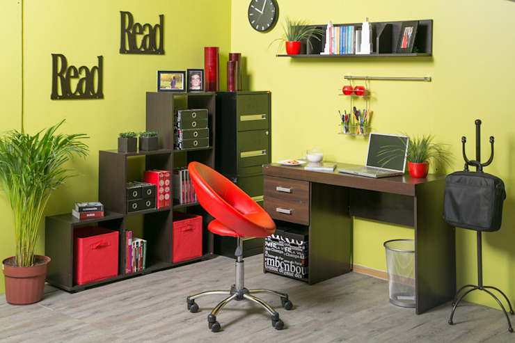 Estudio en casa de Idea Interior Moderno