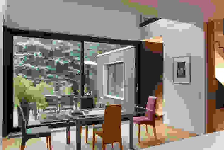 fried.A - Büro für Architektur Comedores de estilo moderno