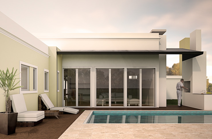 Casas de estilo  por KorteSa arquitectura