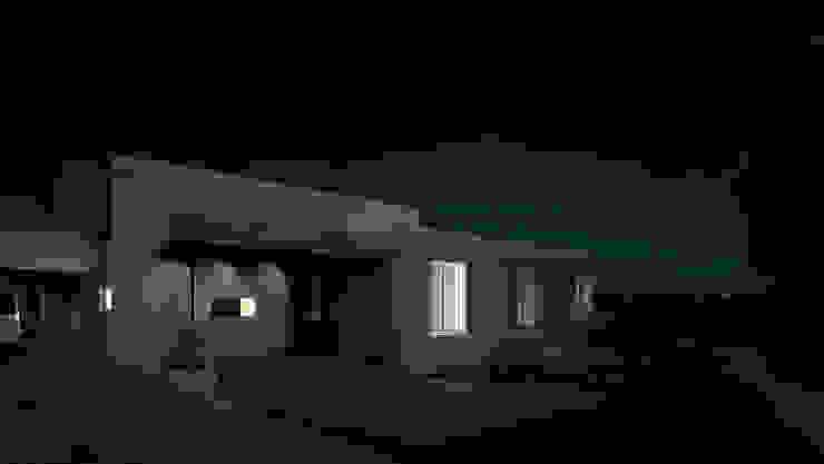 KorteSa arquitectura Colonial style house Beige