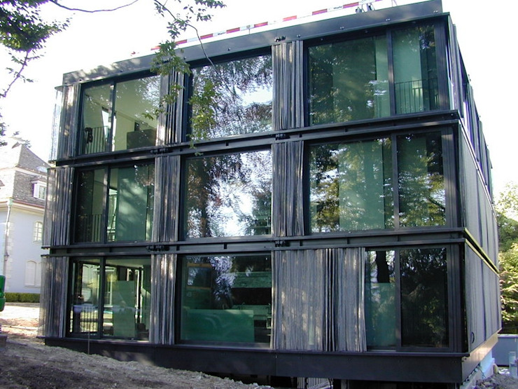 Modern houses by Tessitura Tele Metalliche Rossi Modern