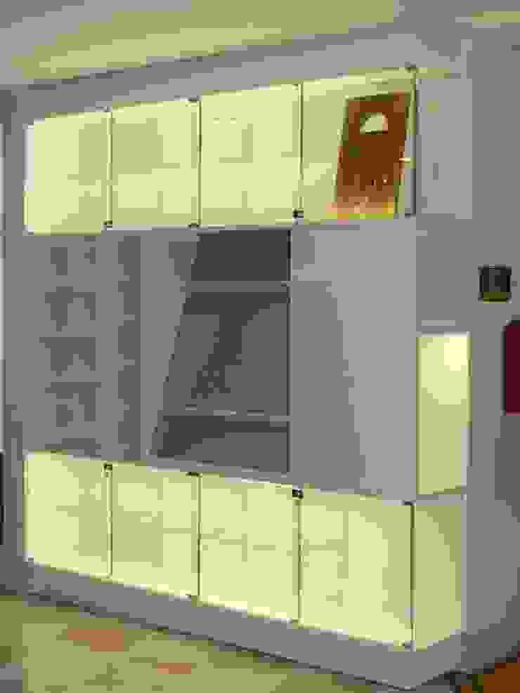 ASCARI I FALEGNAMI Oficinas y bibliotecas de estilo moderno