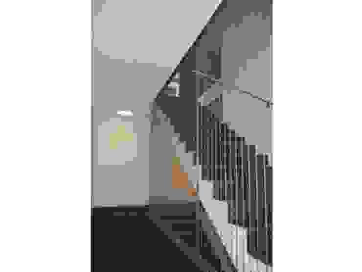 Modern corridor, hallway & stairs by Tessitura Tele Metalliche Rossi Modern