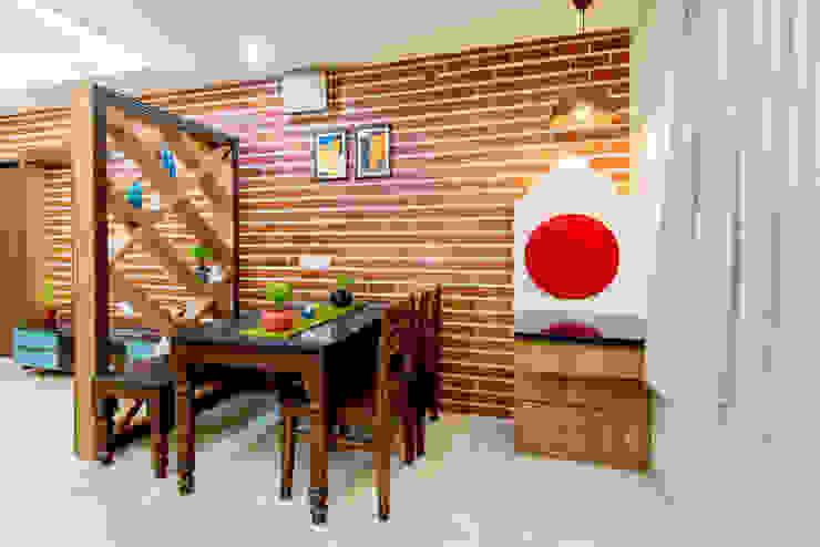 Pimpalgaonkar House homify Eclectic style dining room
