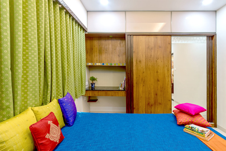 Pimpalgaonkar House homify Asian style bedroom