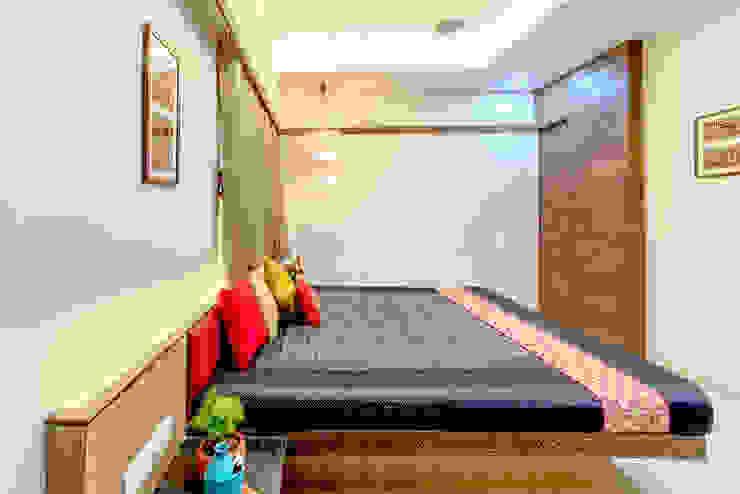 Pimpalgaonkar House Asian style bedroom by homify Asian