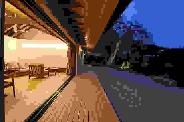 โดย 設計事務所アーキプレイス โมเดิร์น ไม้ Wood effect