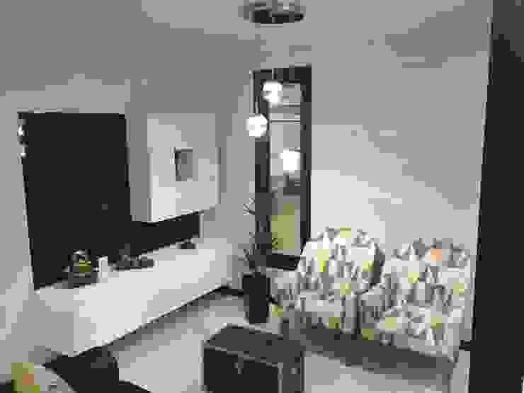 Salas / recibidores de estilo  por KITUR